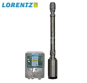 Pompe solaire immergée LORENTZ PS600 jusqu'à 140 m