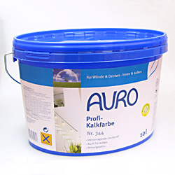 Peinture à la chaux - Qualité PRO - n°344 - AURO