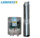 Pompe solaire immergée LORENTZ PS150 jusqu'à 22 m