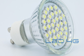Spot LED GU10 36 LEDs SMD - 1,5W - 220V - LED 4G
