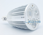 Spot LED MR16 3 x 2W 12 Volts - Super Puissante - LED 4G DESTOCKAGE
