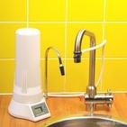 Filtre DIGITAL sur évier avec une cartouche EMX - HYDROPURE TECA-EM