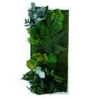 Tableau Végétal Stabilisé RECTANGLE Large 40x90 - FLOWERBOX verifier le produit à la livraison