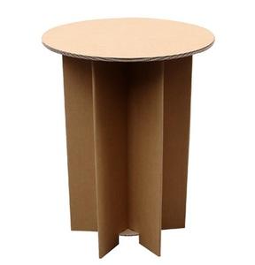 """Table en carton """"ETOILE +"""""""