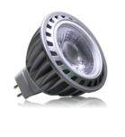 Spot LED MR16 (12V) COB Epistar 5W Blanc Froid - LED 4G DESTOCKAGE