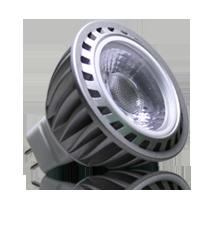 Spot LED MR16 (12V) COB Epistar 5W Blanc Froid - LED 4G DESTOCKAGE