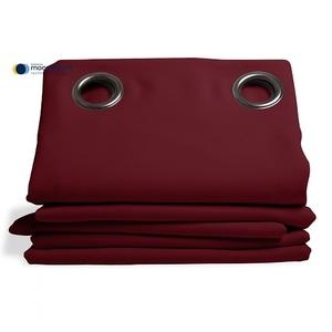 Rideau isolant thermique HIVER couleur Grenat 145X260