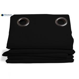 Rideau isolant thermique HIVER couleur Noir 145X260