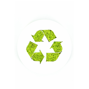 Tableau végétal Micro Picto MAGNET Recyclage diam 10cm - FLOWERBOX