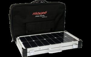 Valise solaire 60Wc pour SOLARPOD