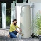 Réservoir eau de pluie ELEGANCE 400L Sable - GARANTIA