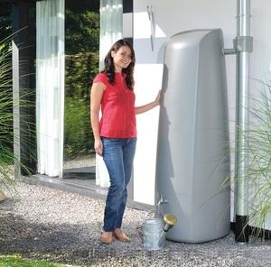Réservoir eau de pluie ELEGANCE 400L Gris - GARANTIA