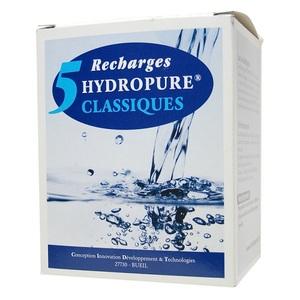 5 recharges filtrantes (filtre Classique) - HYDROPURE RC