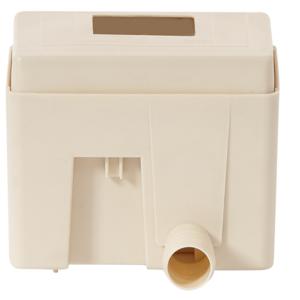 Collecteur eau de pluie carré Sable QUATTRO - GARANTIA
