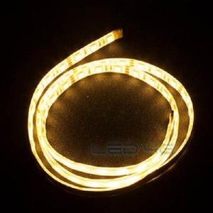 Ruban LED Très puissant étanche blanc chaud en 5m - LED 4G
