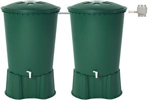 KIT 2 cuves à eau 510 L vert  graf