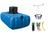 Récupérateur d'eau de pluie 1500L à enterrer - GARANTIA  Attention lire les conditions de services après vente lors de la livraison à respecter :voir fichier pdf dans la description