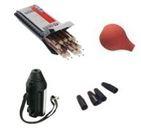 Kit contrôle d'étanchéité à l'air (4 elements : poire + 10 tubes fumigènes+bouchons obturateurs+coupe tube) - DRAGER