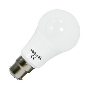Ampoules LED B22 1100 lumens et 12W Blanc chaud -