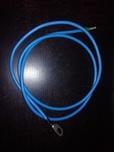 Câble de connexion batterie - régulateur 6mm² 1 cosse M8 rouge