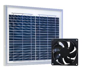 Solar i Vent aérateur, refroidisseur