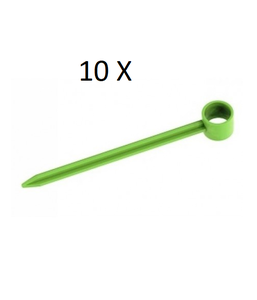 Sachet 10 piquets de  CLOCHE Modulo