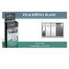 Film depoli blanc translucide 75x250 cm